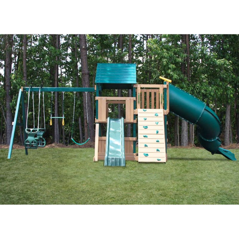 Plastic Coated Swing Sets